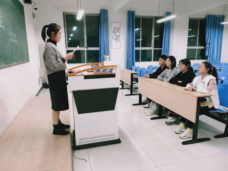 支部委员会会议内容_20级会计一班召开第一次团支部委员会